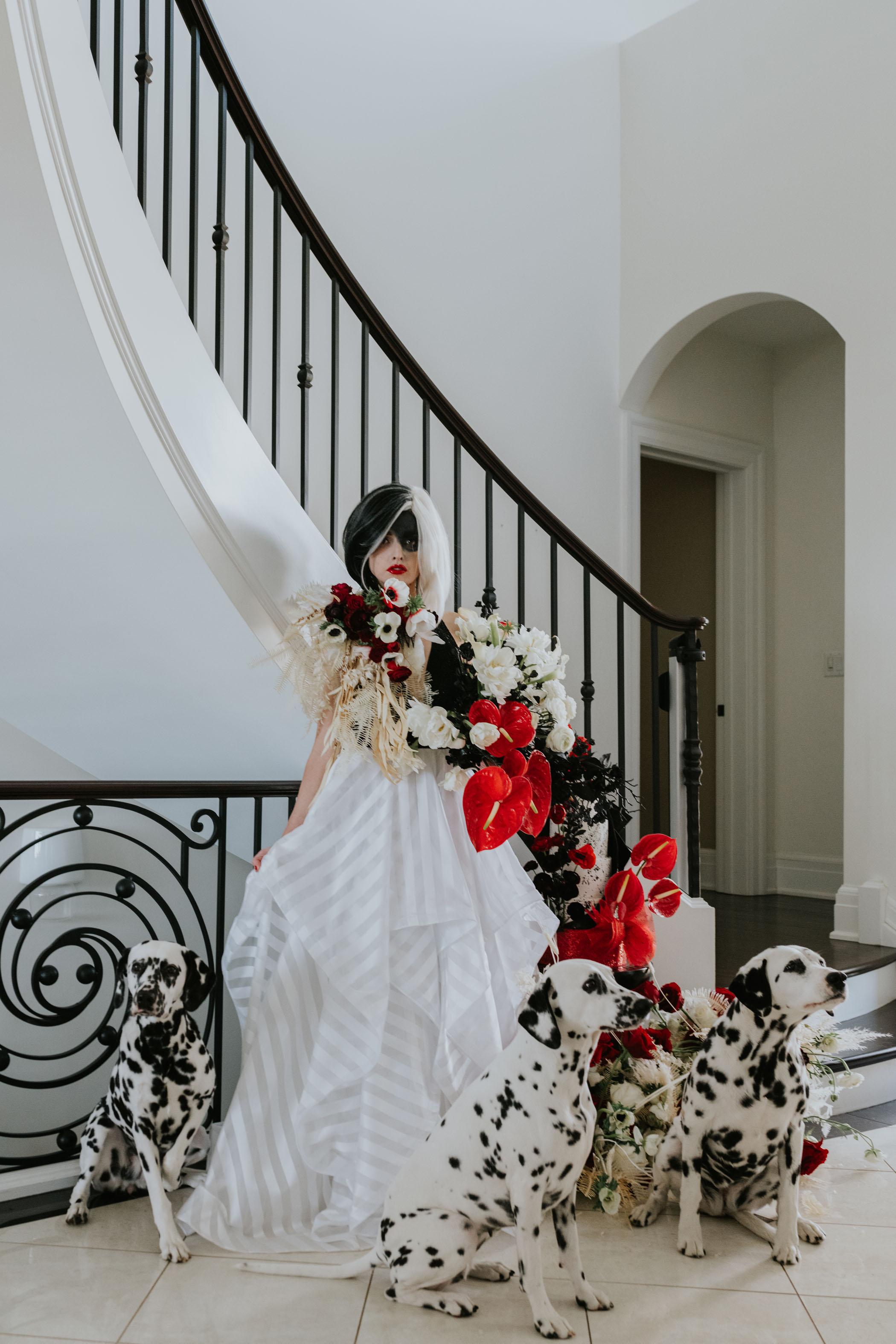 Cruella Wedding Dress