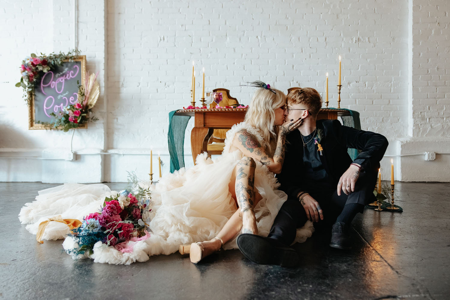 Carrie Big Sex and the City Themed Wedding