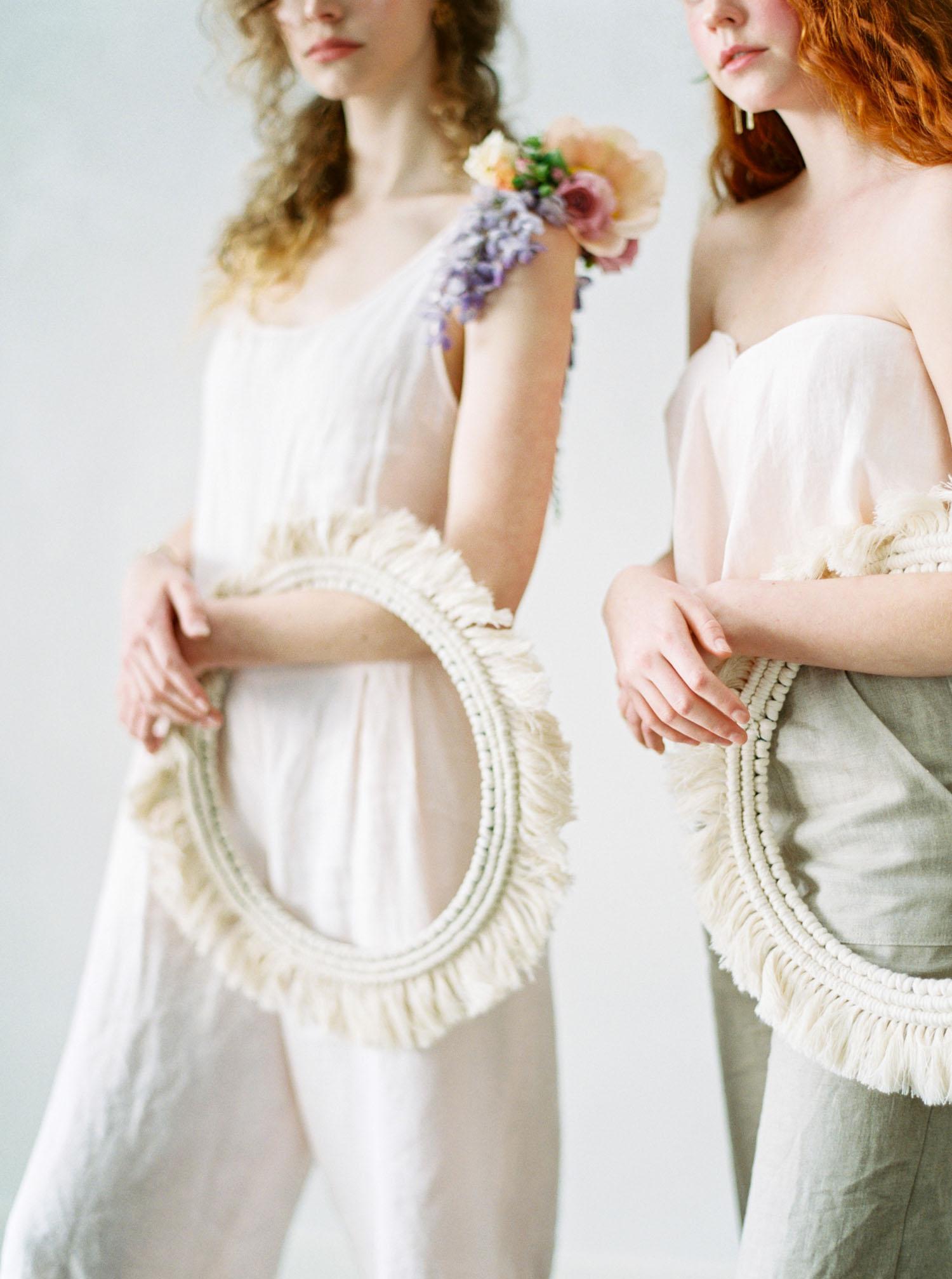 Boho Fringe Bridesmaid Holder
