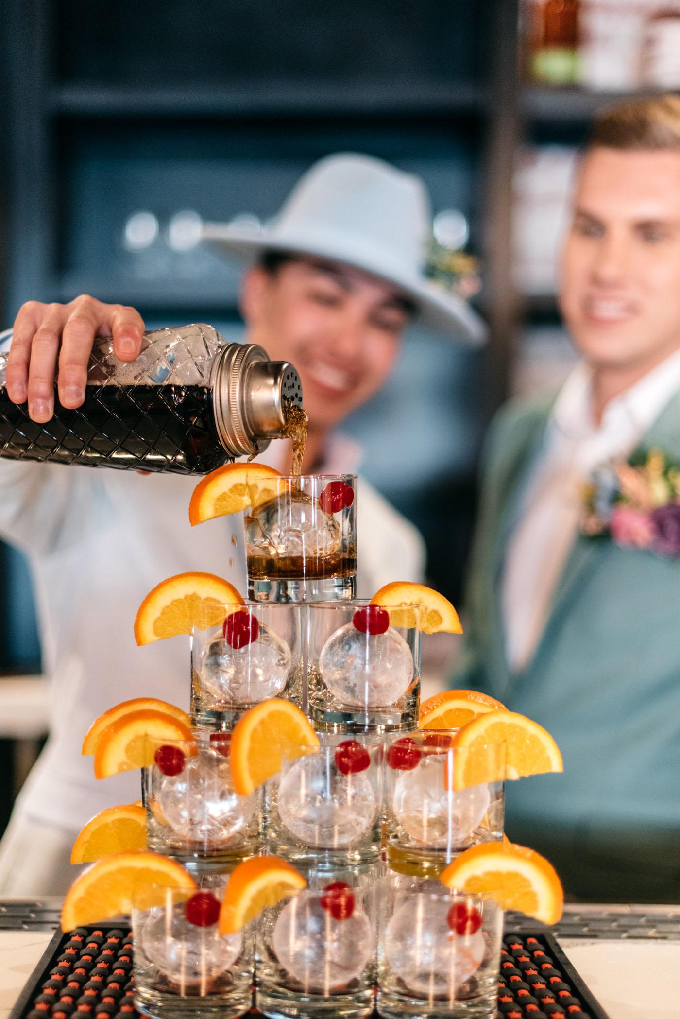 Sherbet and Bourbon Gender Fluid Styled Shoot