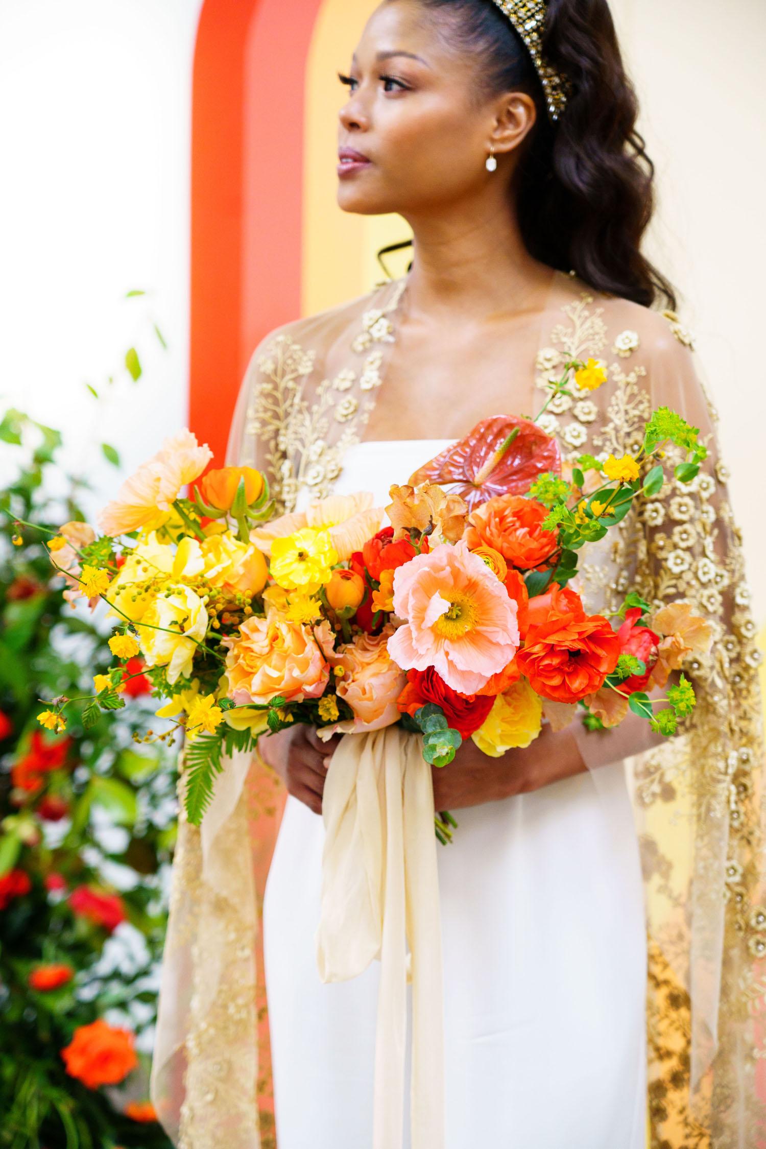 Colorful Retro Bouquet