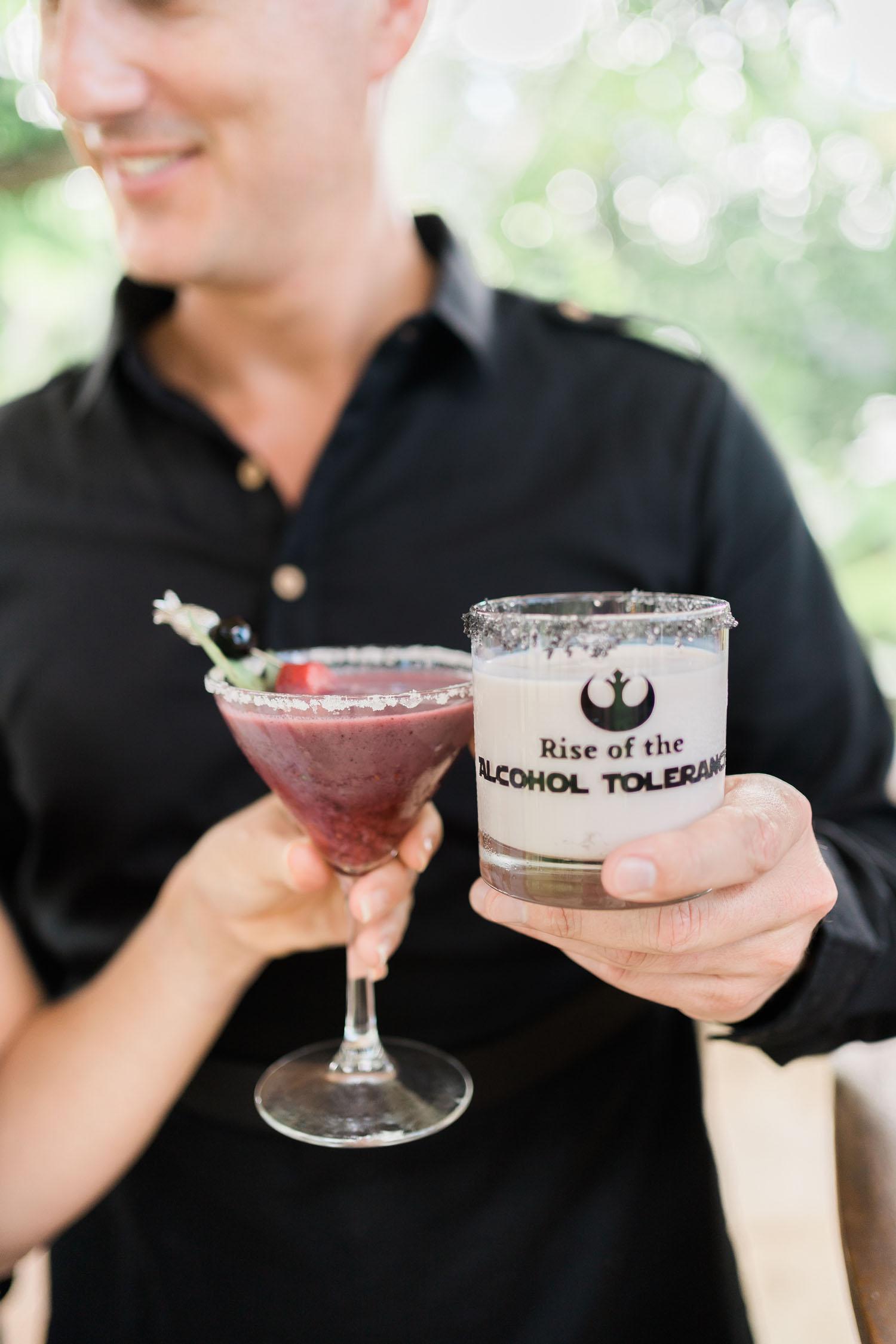 Star Wars cocktail glasses