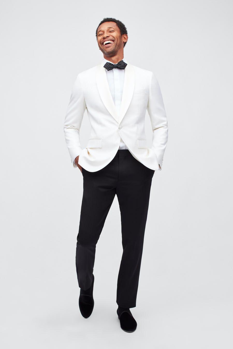 white groom suit
