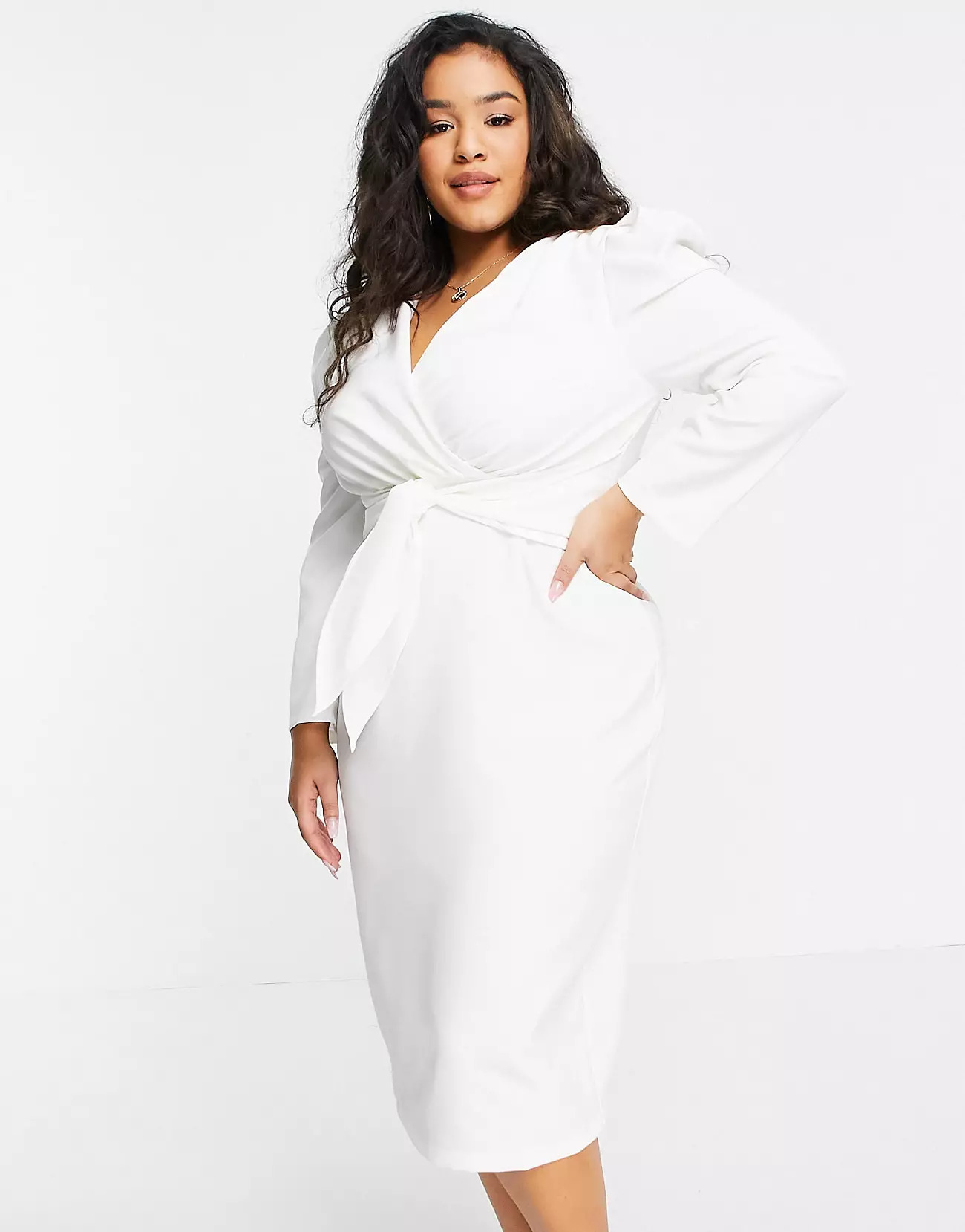 asos mini white dress