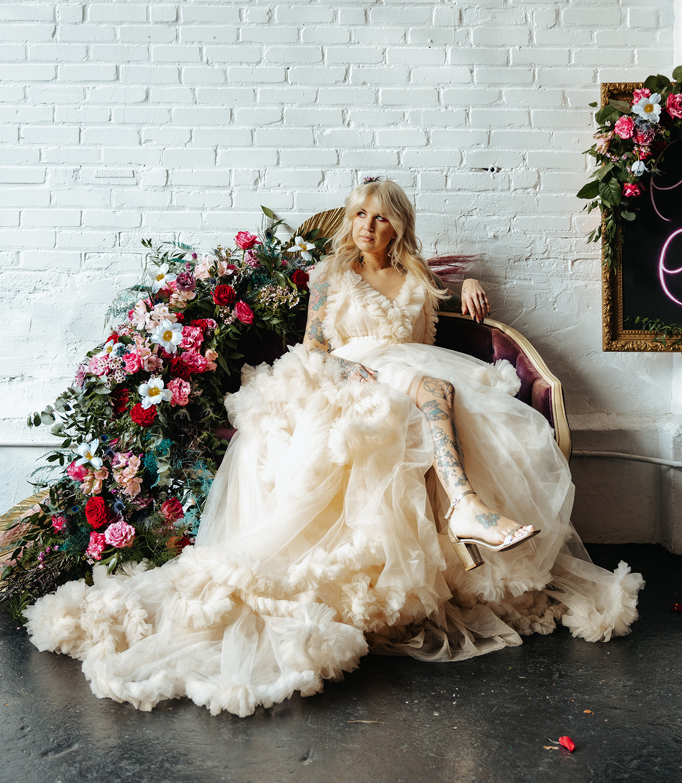 Carrie and Big Sex and the City Wedding