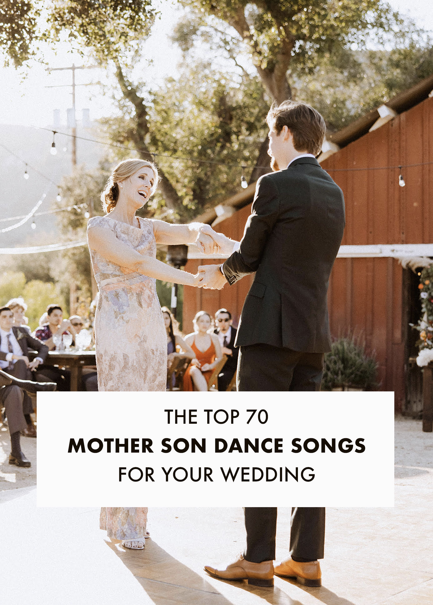 70 mother son dance songs for your wedding