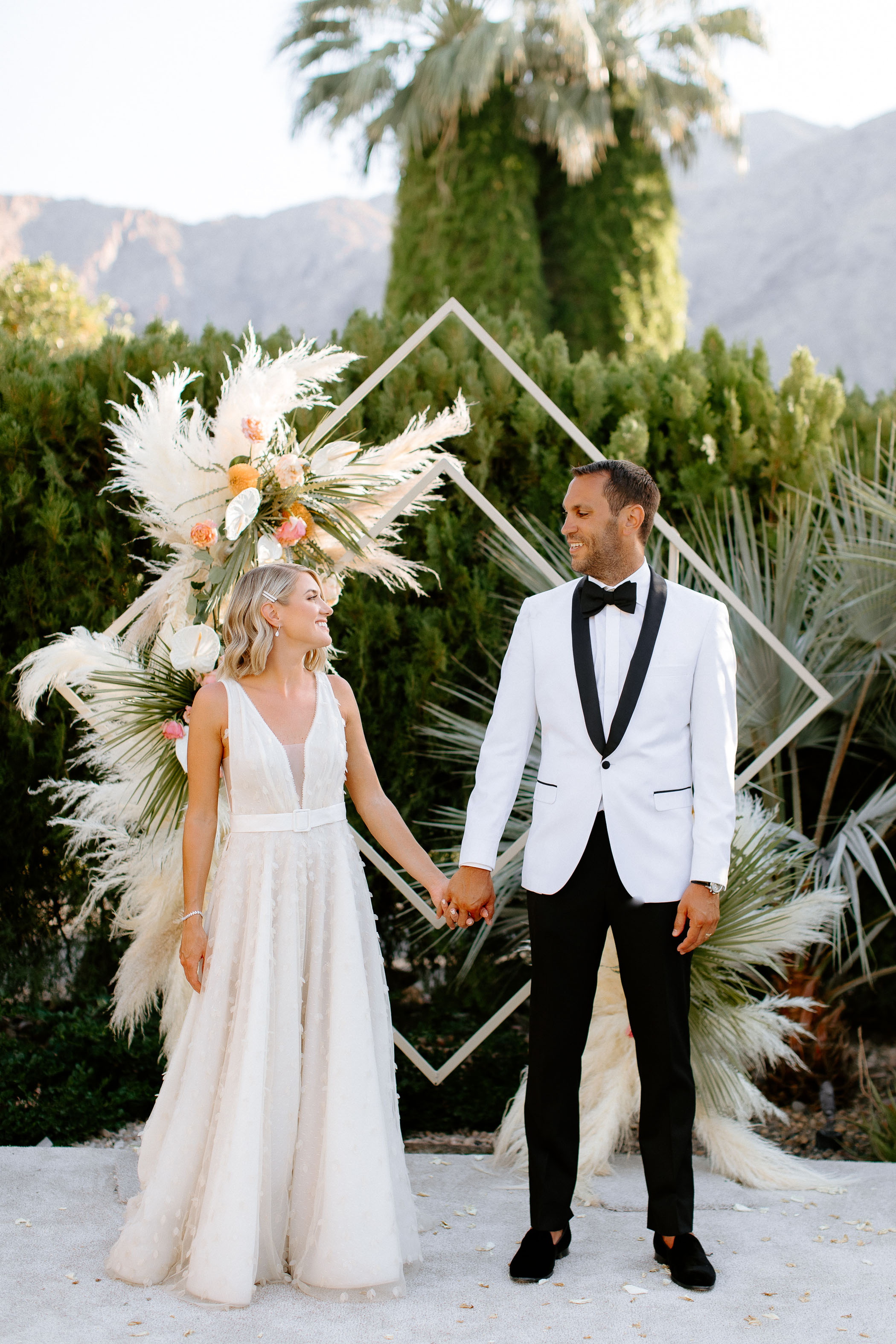 Unconventional Palm Springs Wedding