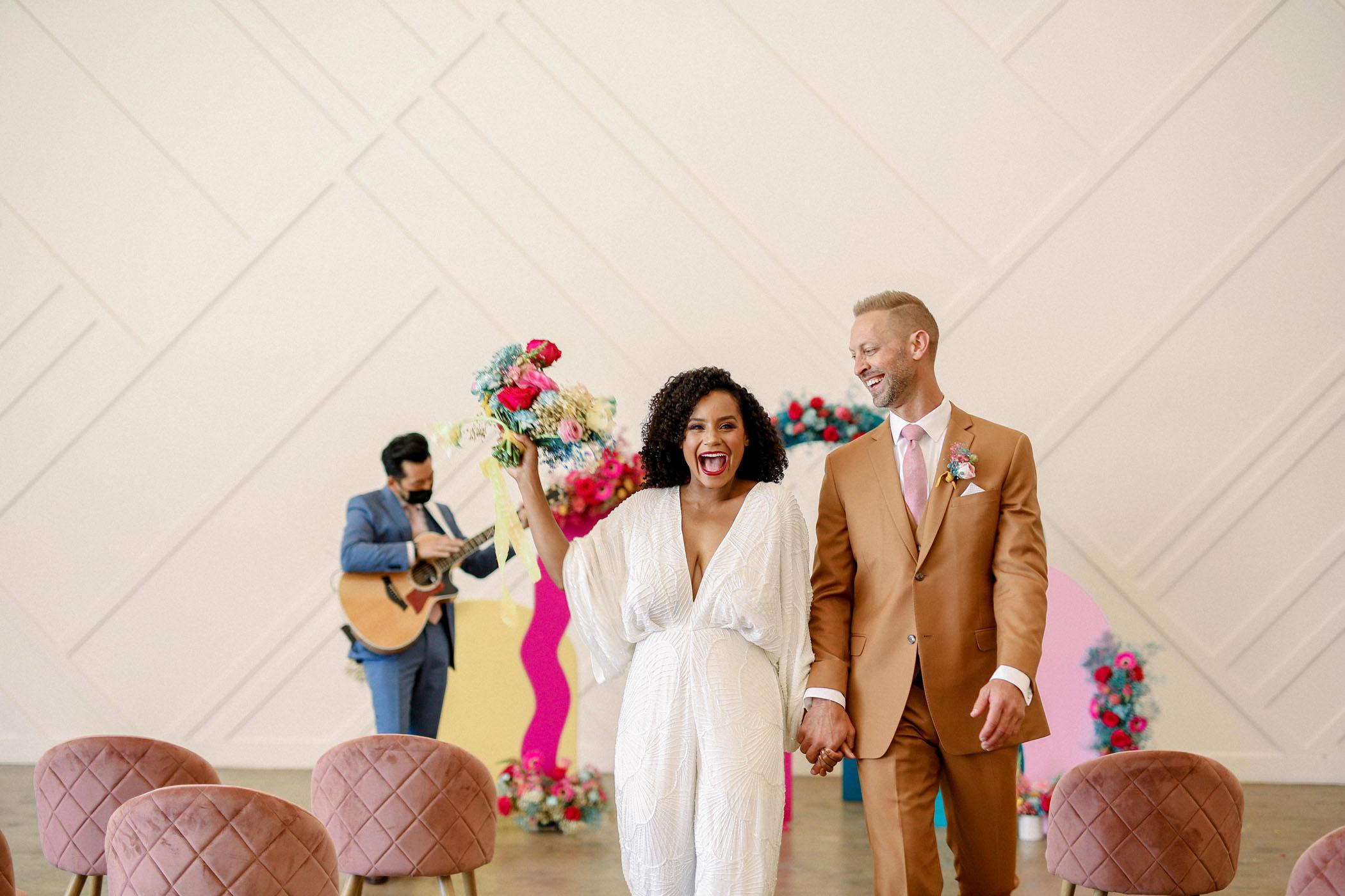 Modern 70s Wedding Inspiration