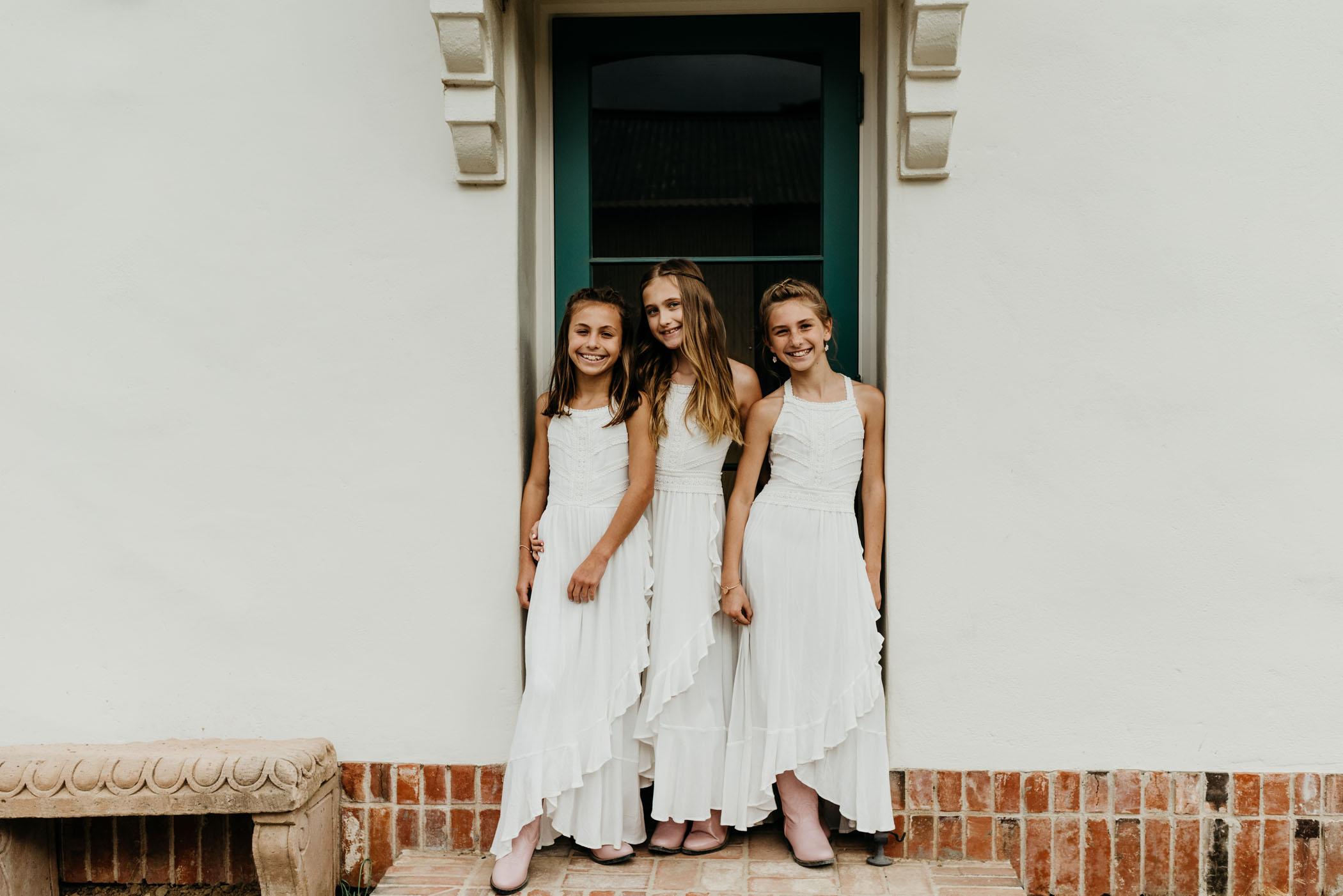 Flower Girls boho dresses