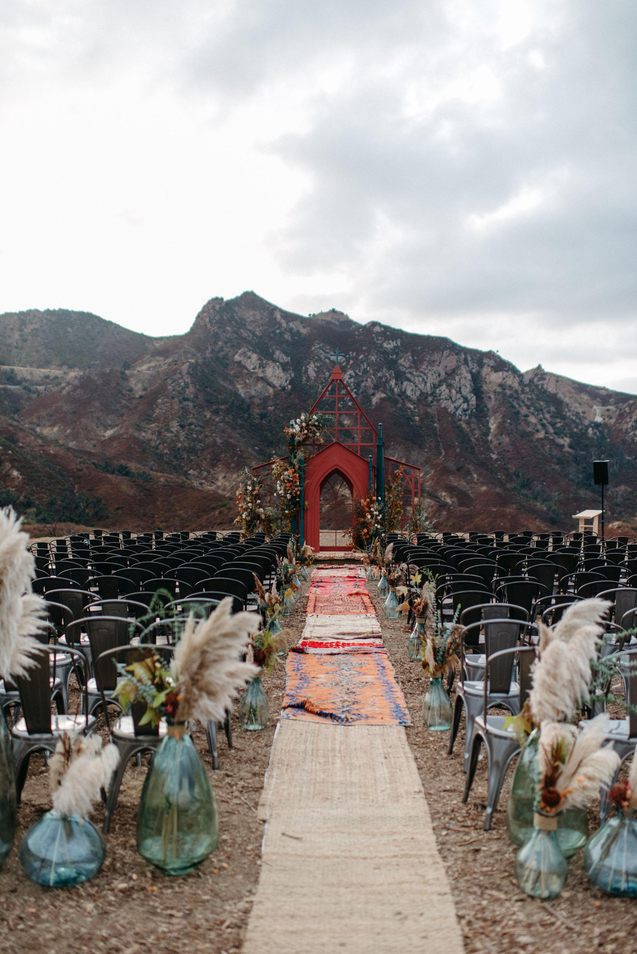 outdoor wedding aisle rugs