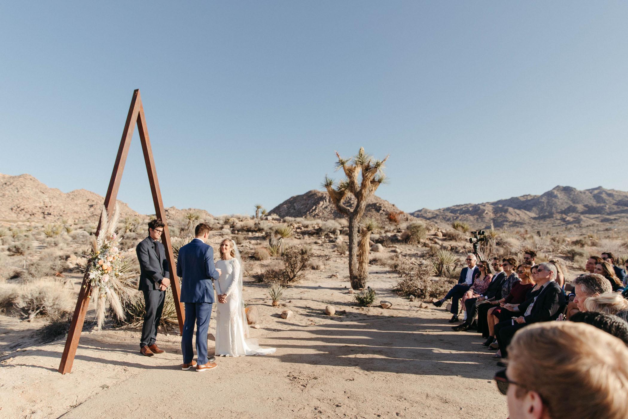 Glass Skyhouse Joshua Tree Wedding