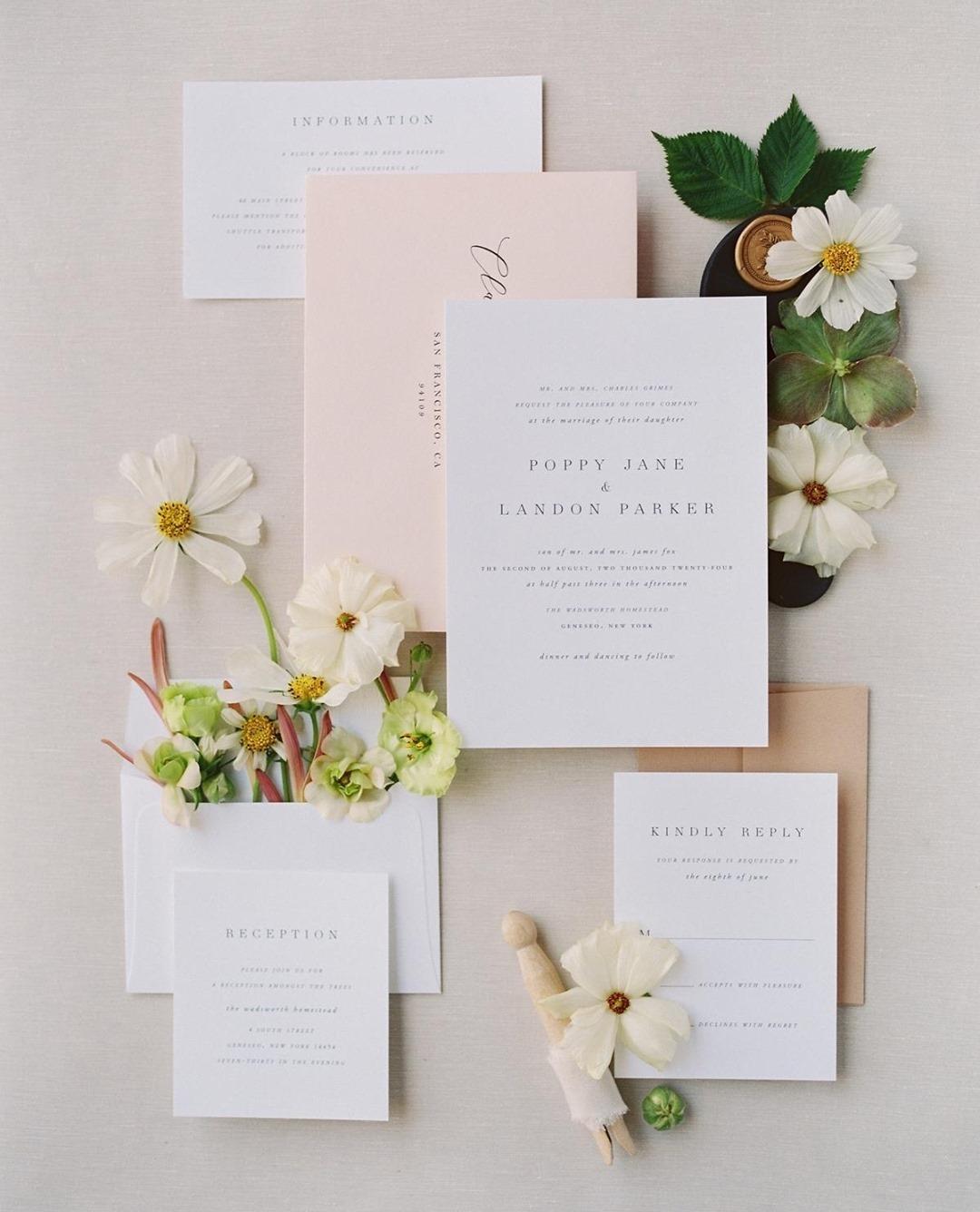 timeless wedding invitations buy online