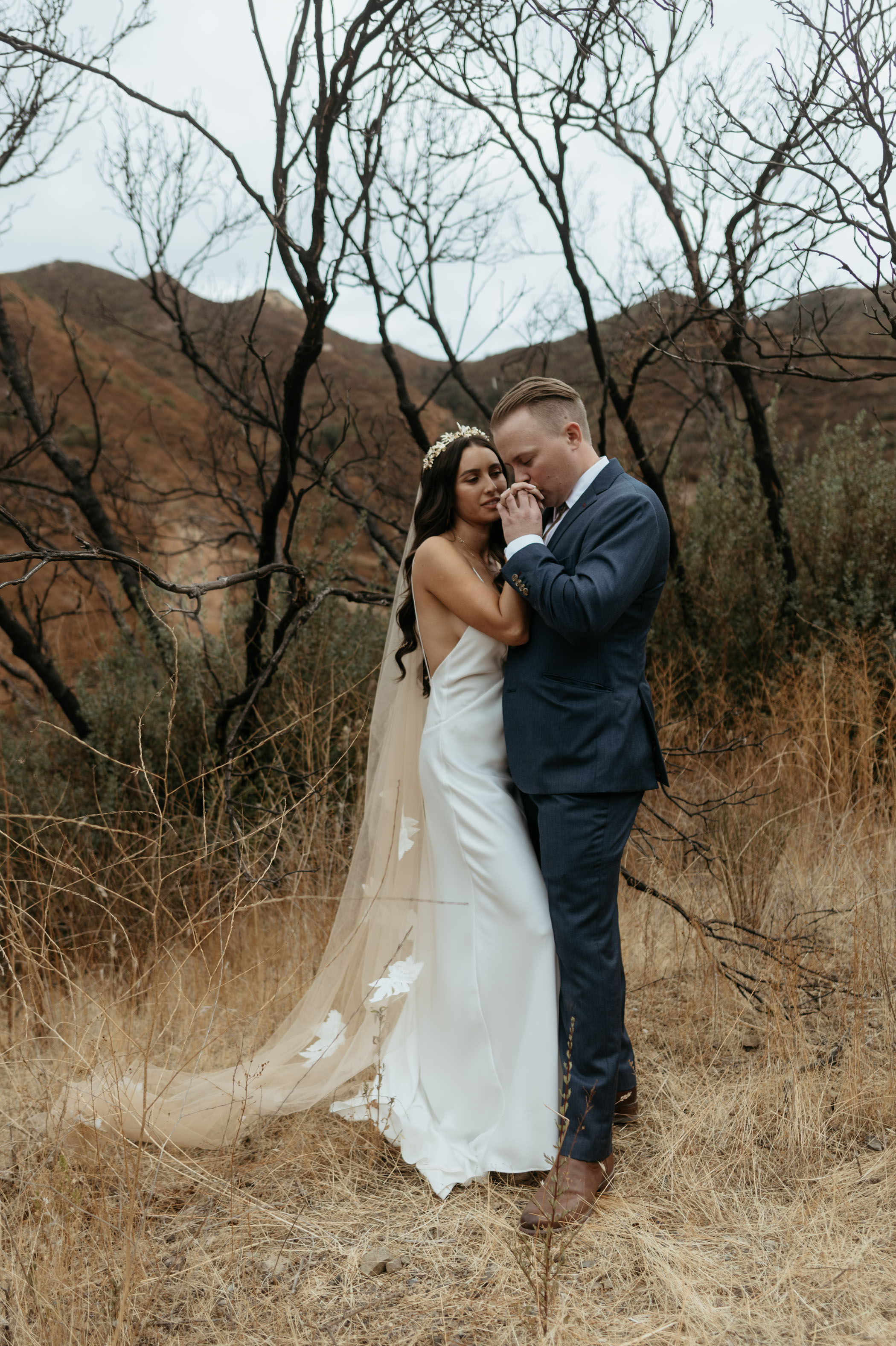 Agora Hills newlywed photos