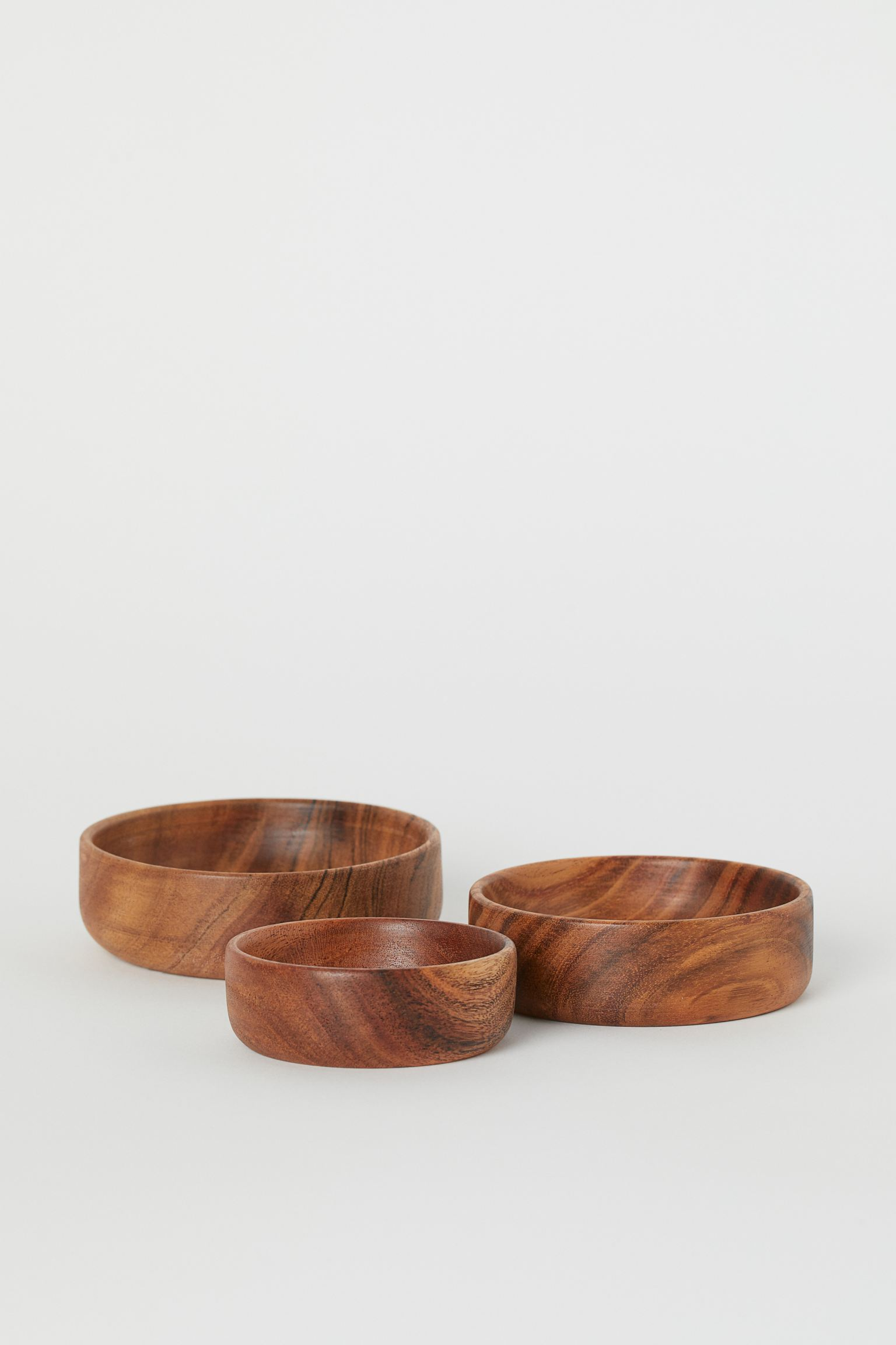 HM 3 wood bowls