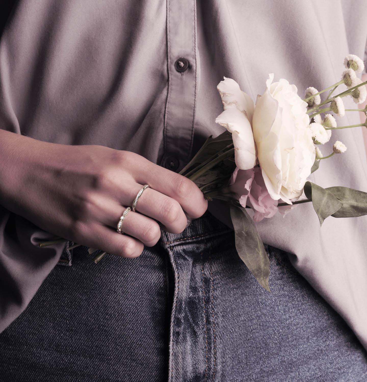 LovBe Diamonds lab grown diamond ring bridal party jewelry
