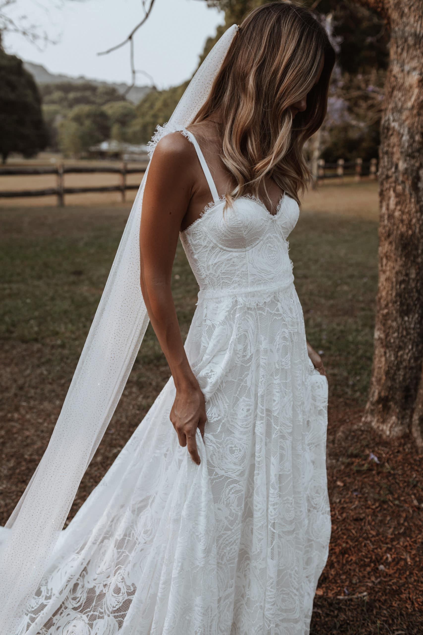 Poppy Wedding Dress by Grace Loves Lace