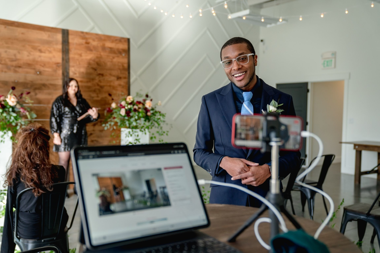 virtual wedding live stream lovecast app