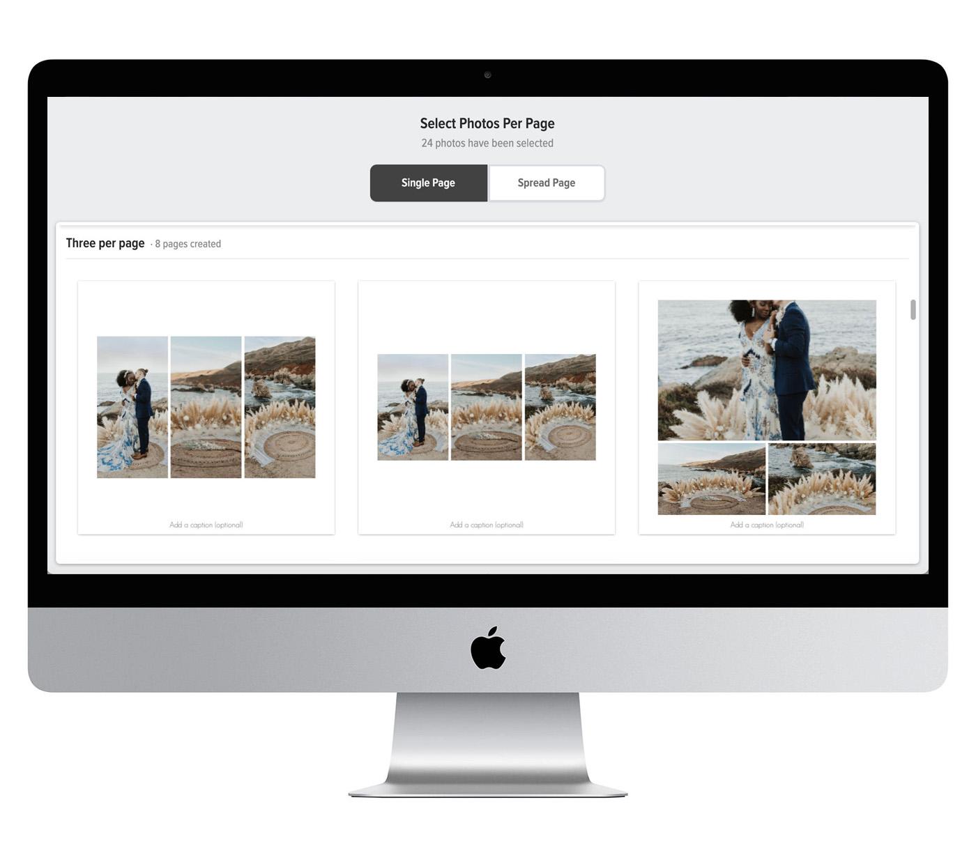 Mpix Custom Wedding Photo Album