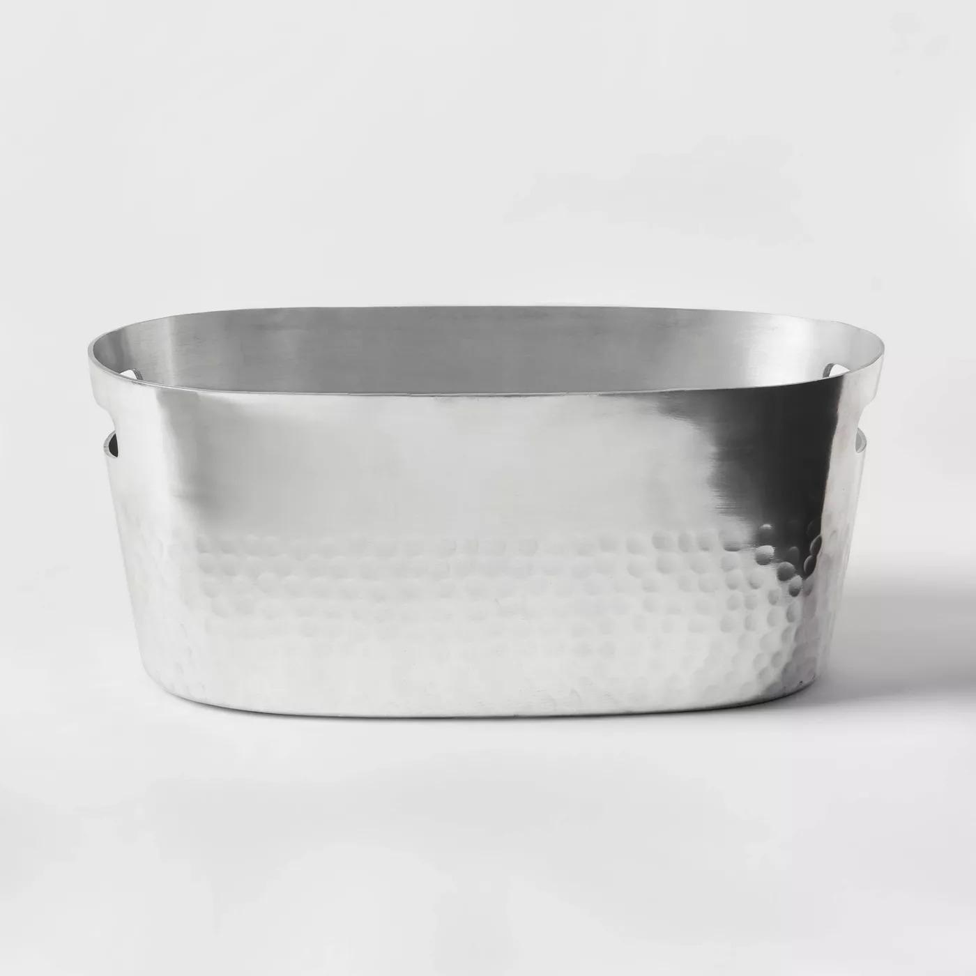 aluminum beverage tub