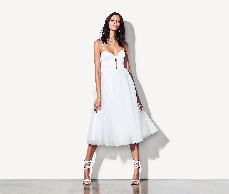 best little white dresses bridal shower