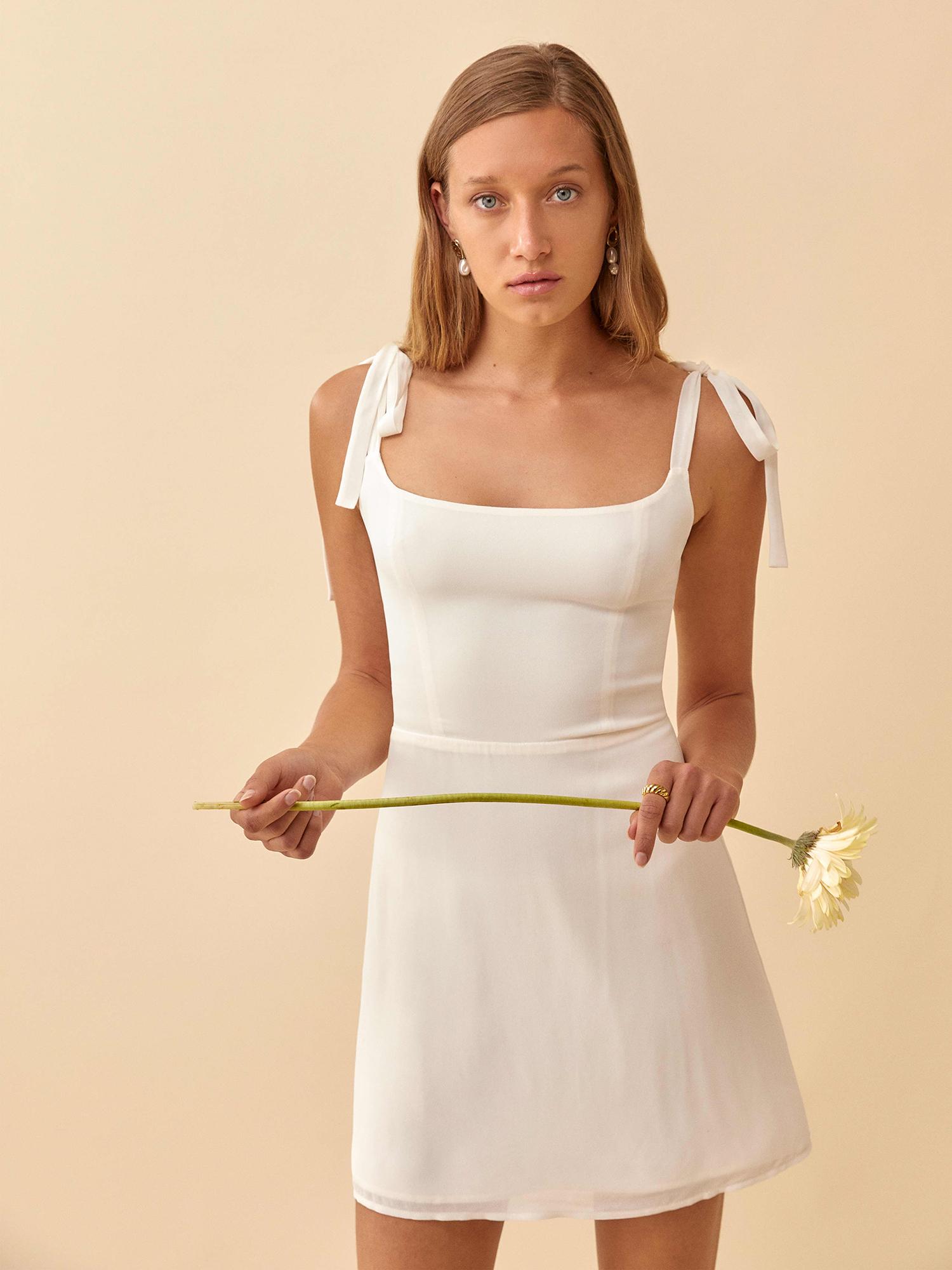 best little white dresses