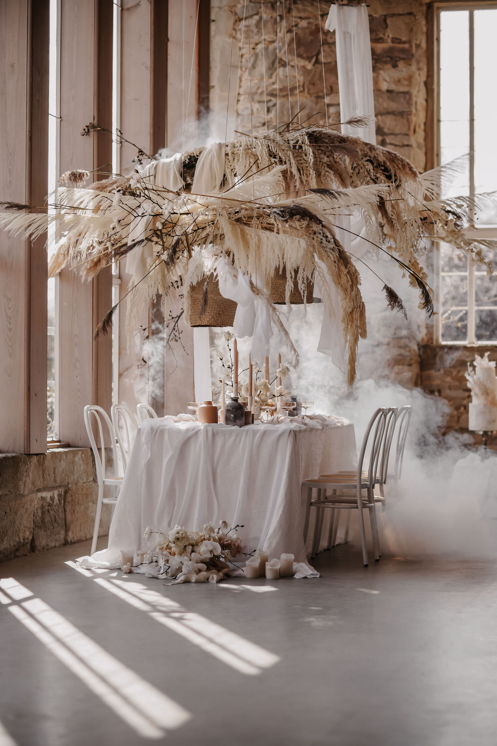 This Whimsical Wedding Inspiration Brings Romance + Neutrals to an Orangerie