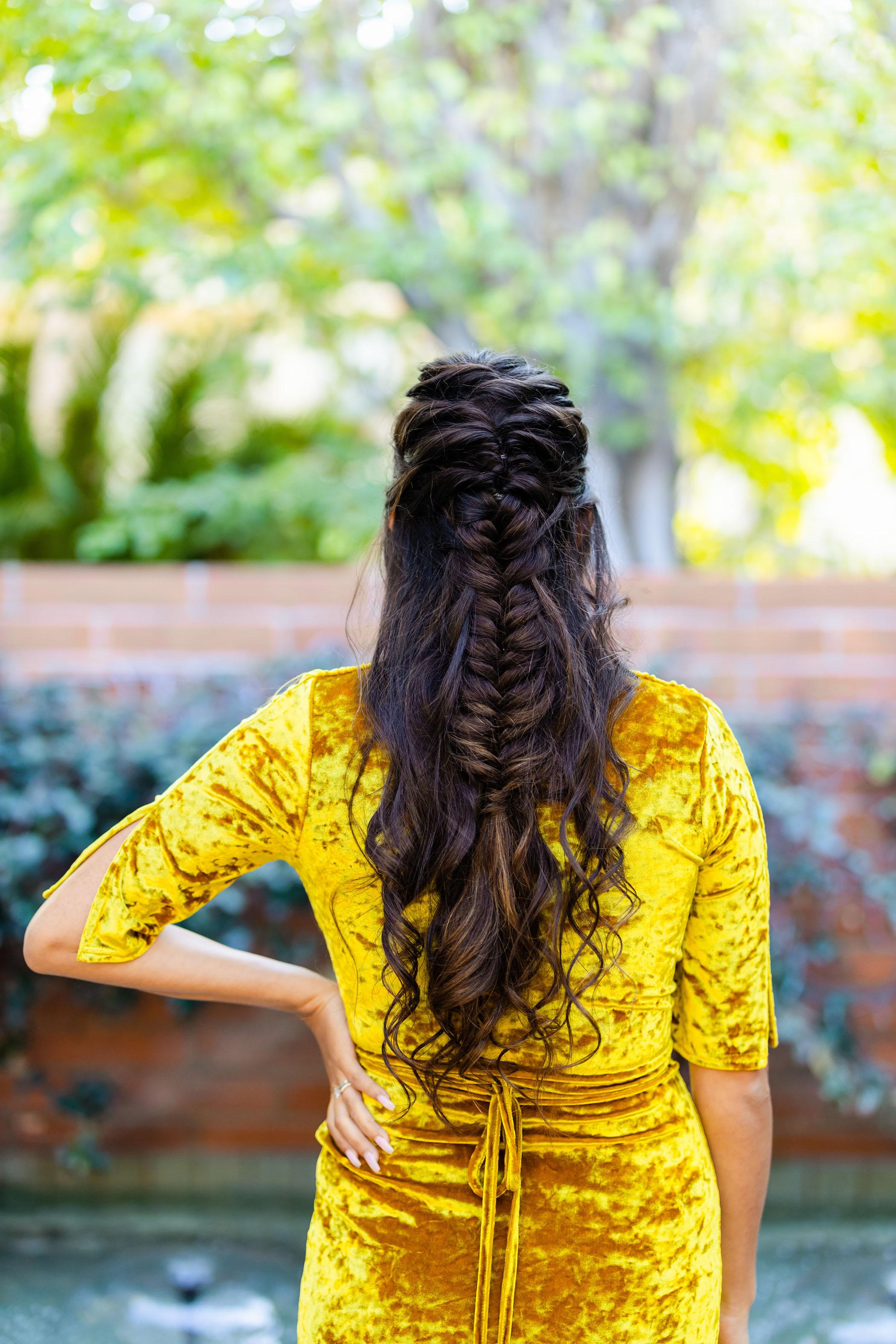 boho braid long hair
