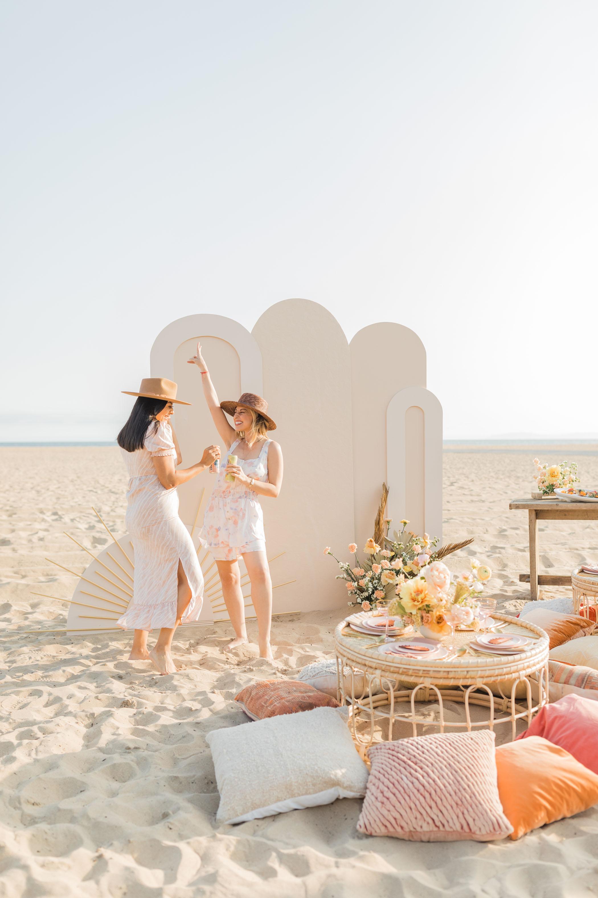 Beach Themed Bridal Shower