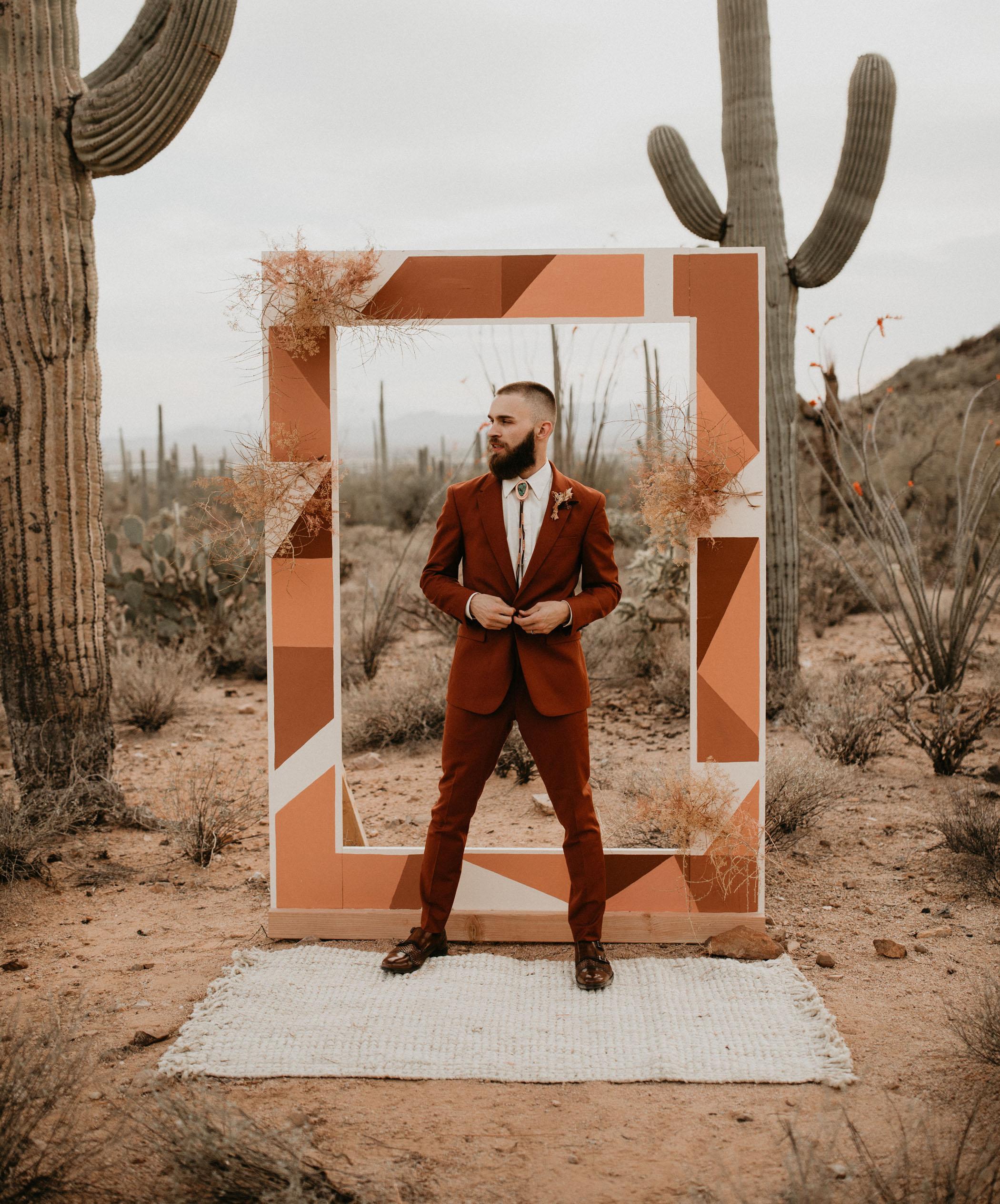 red-suit-wedding-attire
