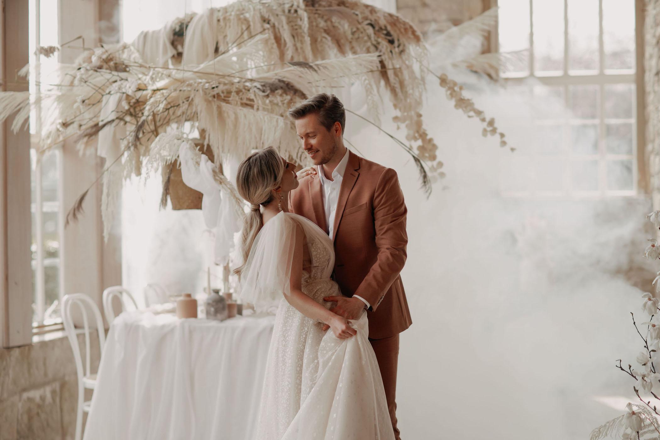 Boho Whimsical Industrial Wedding Inspiration