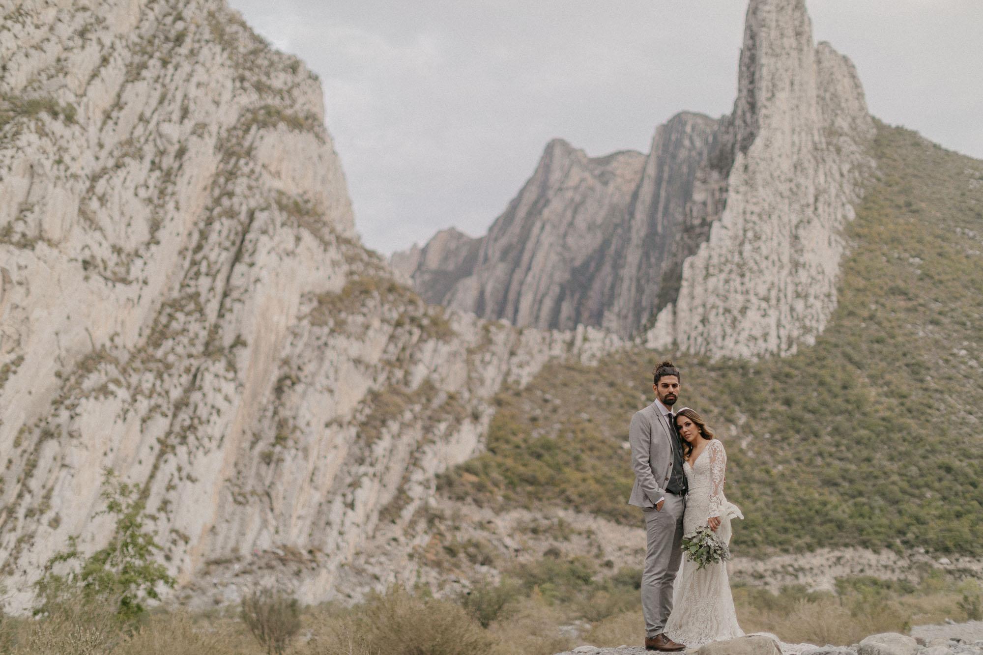 Mexico Mountain DIY Wedding
