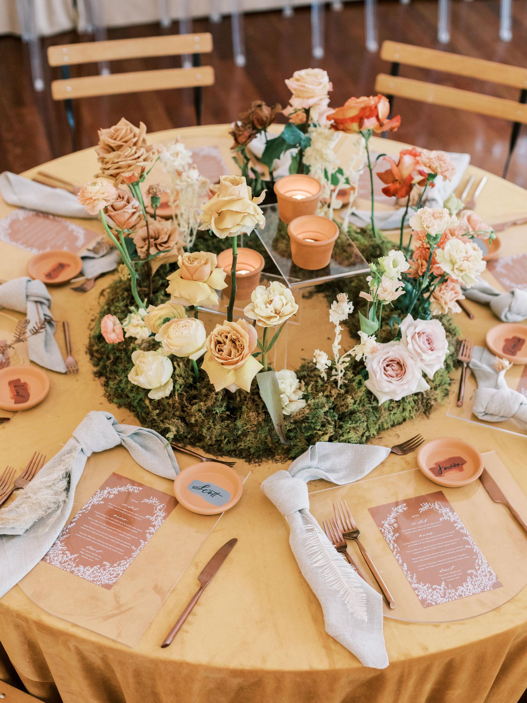 Modern Garden Atlanta Wedding