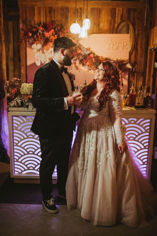 disco-wedding-reception