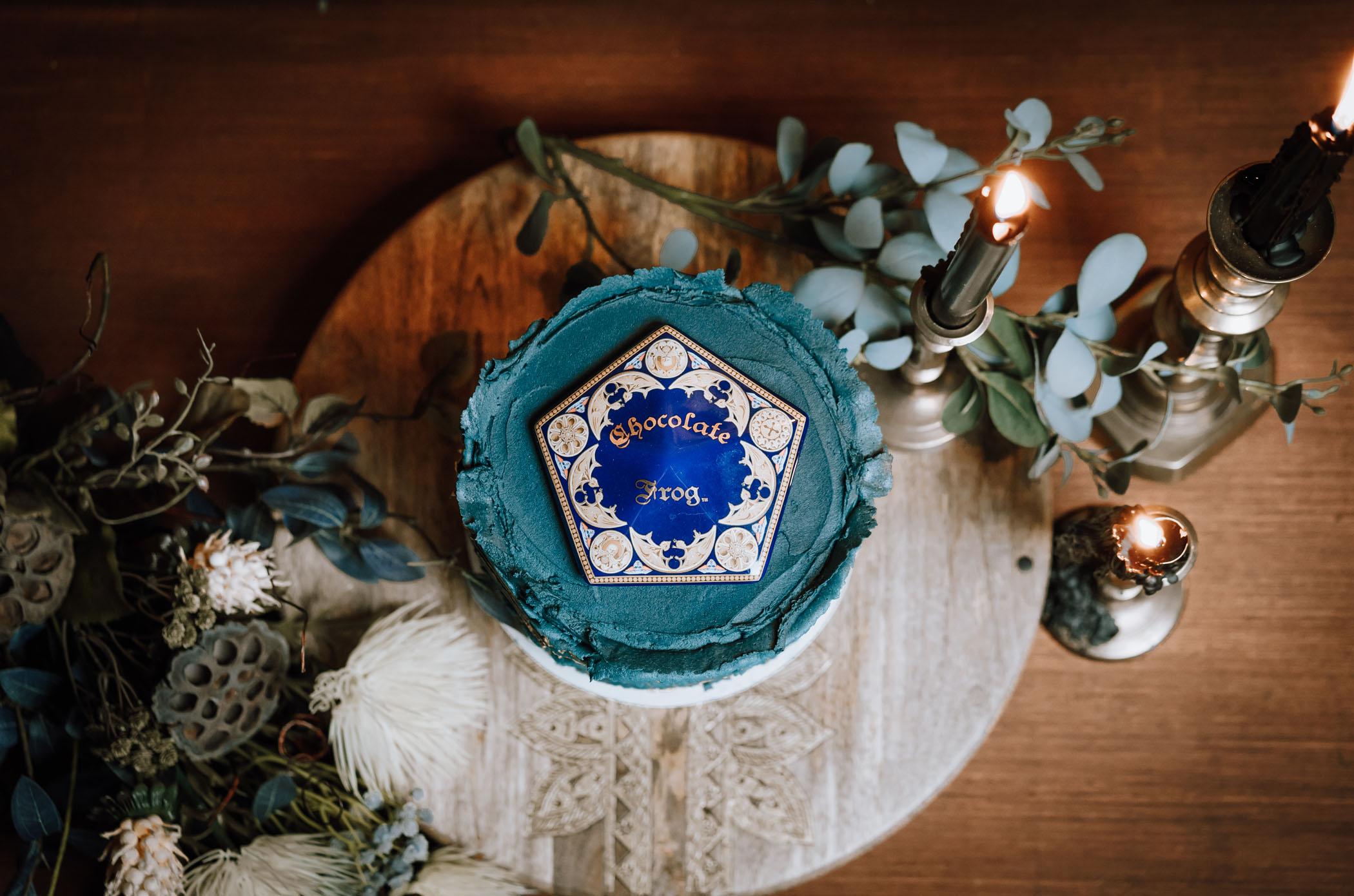 chocolate frog wedding cake