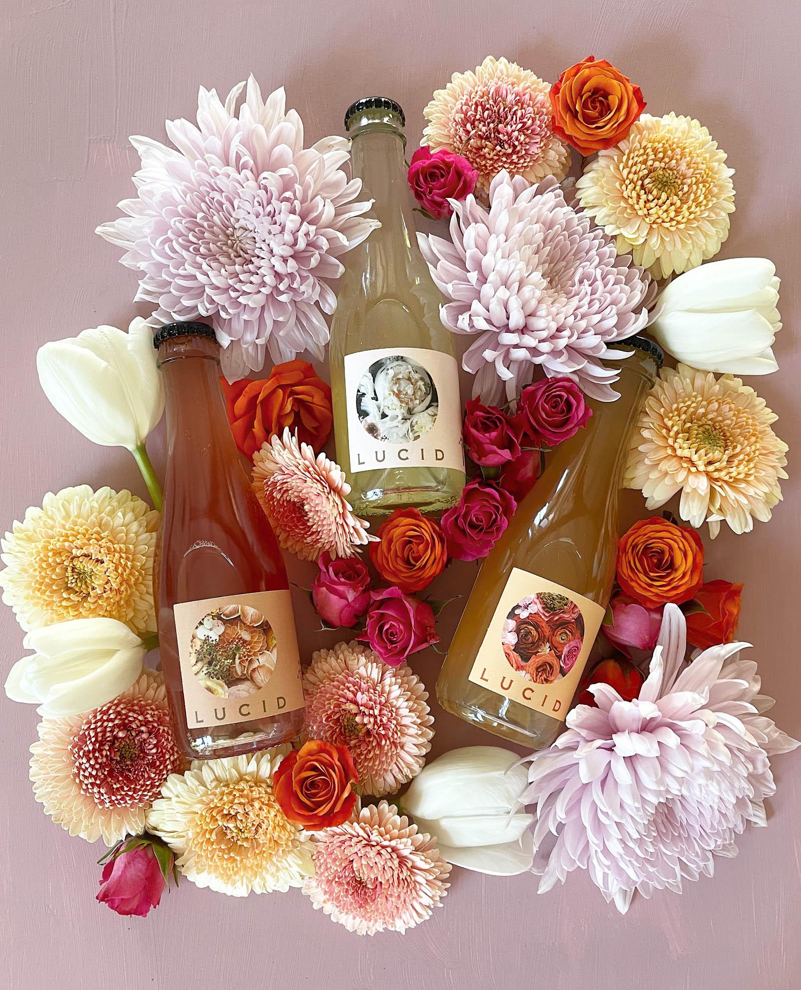Lucid x Green Wedding Shoes Organic Sparkling Wine Tasting Kit