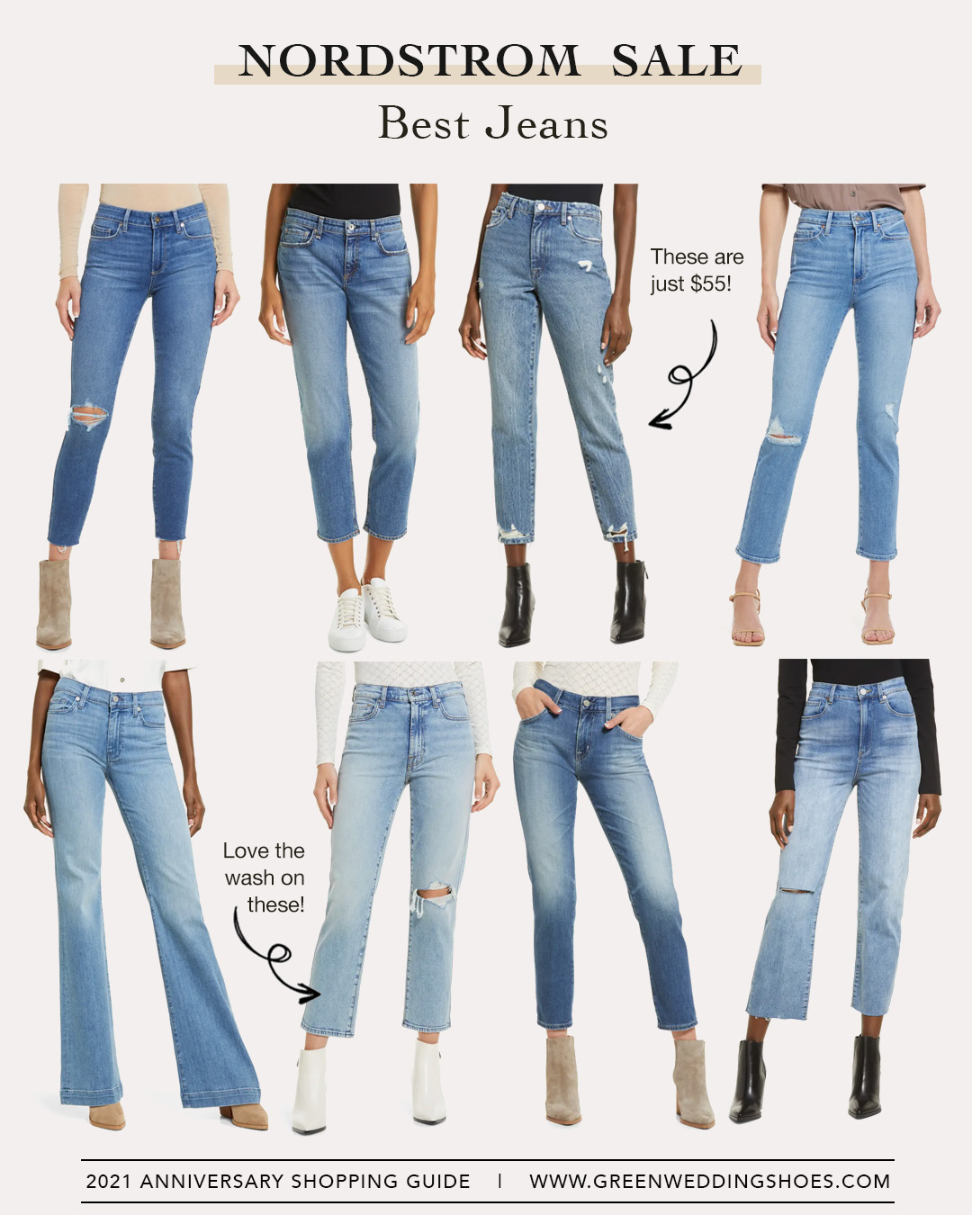 Nordstrom Sale Best Jeans