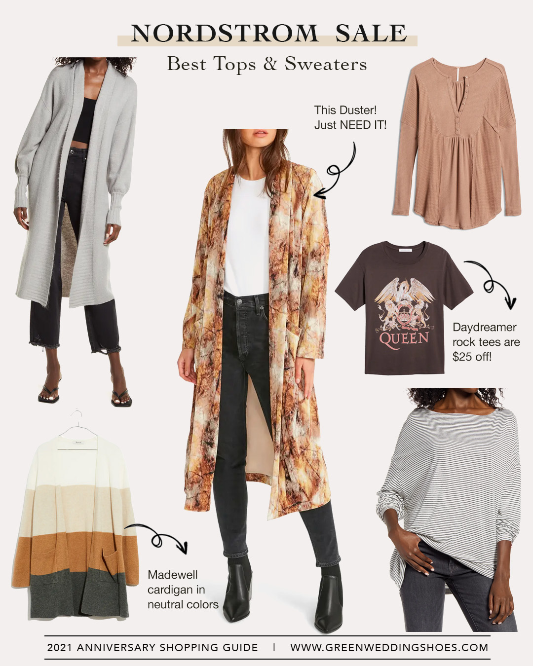 Nordstrom Sale tops and sweaters 2021