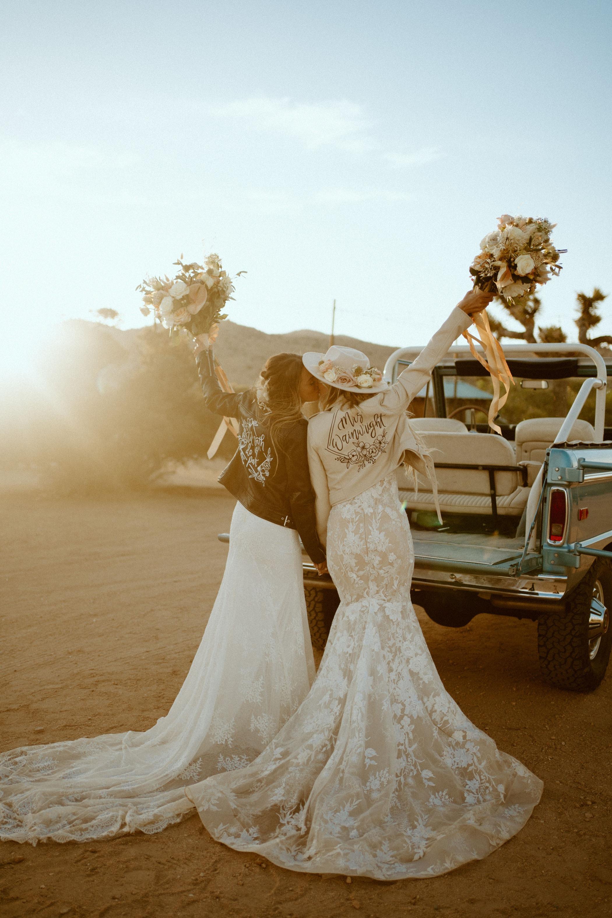 Joshua Tree California wedding