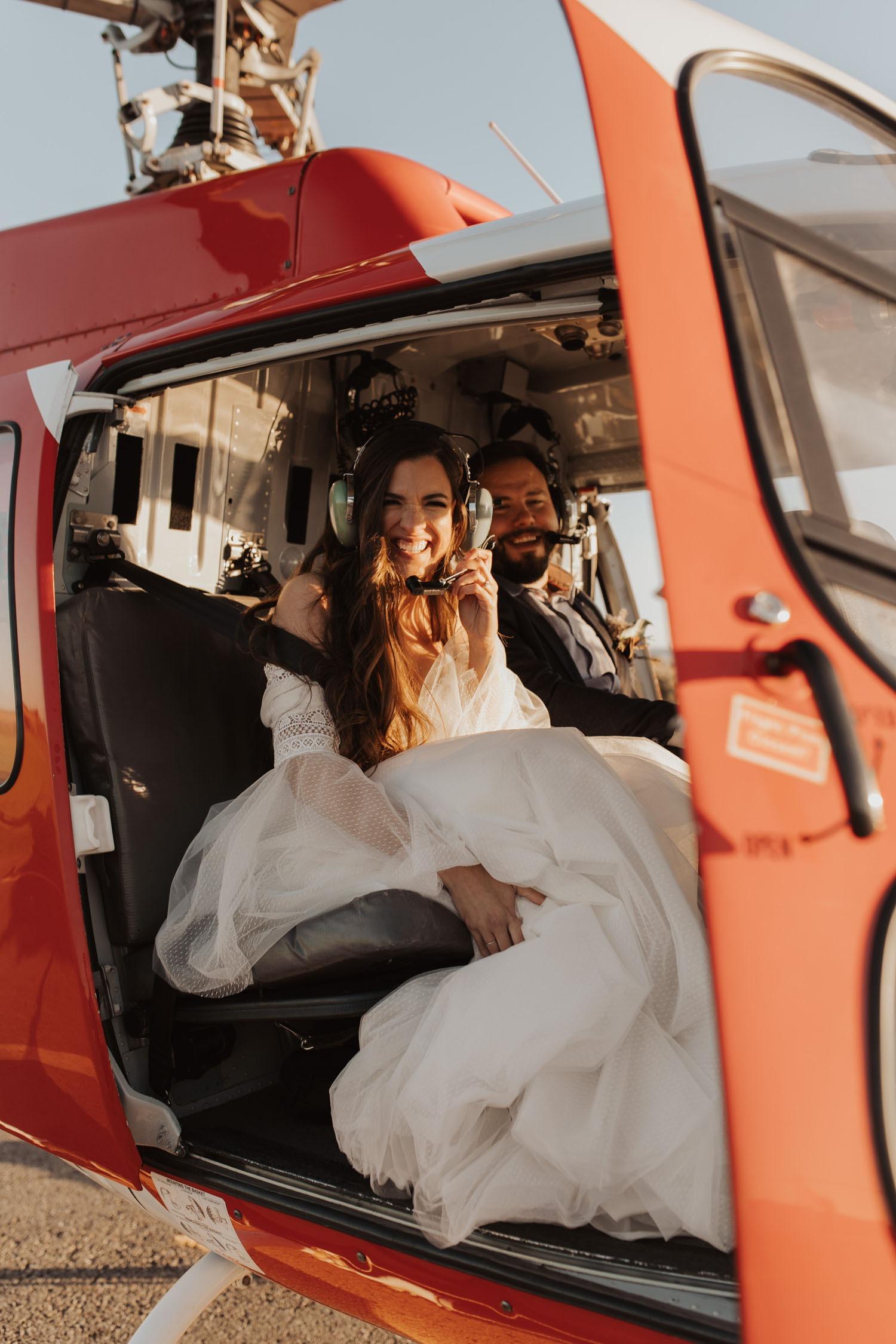helicopter destination wedding ideas