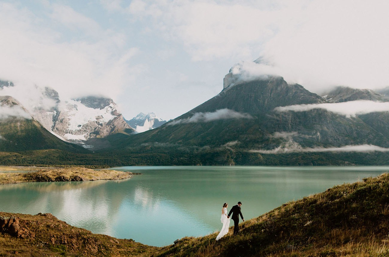 destination wedding in Torres del Paine National Park in Patagonia Chile