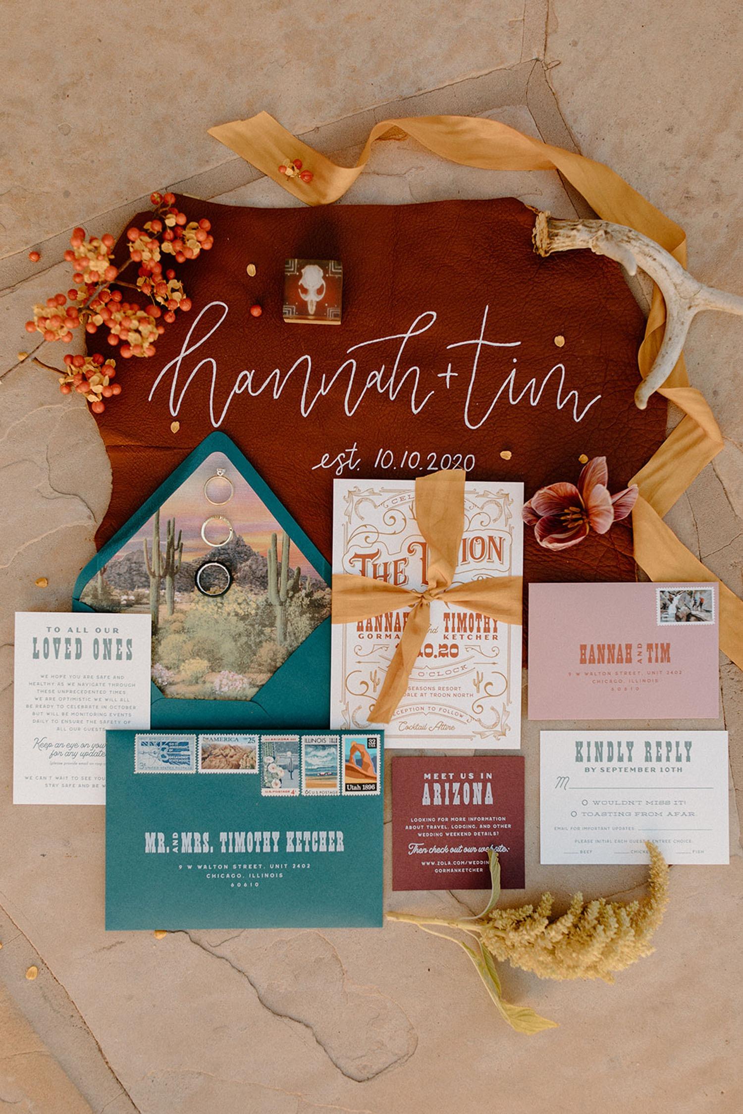 location focused invitation suite destination wedding idea