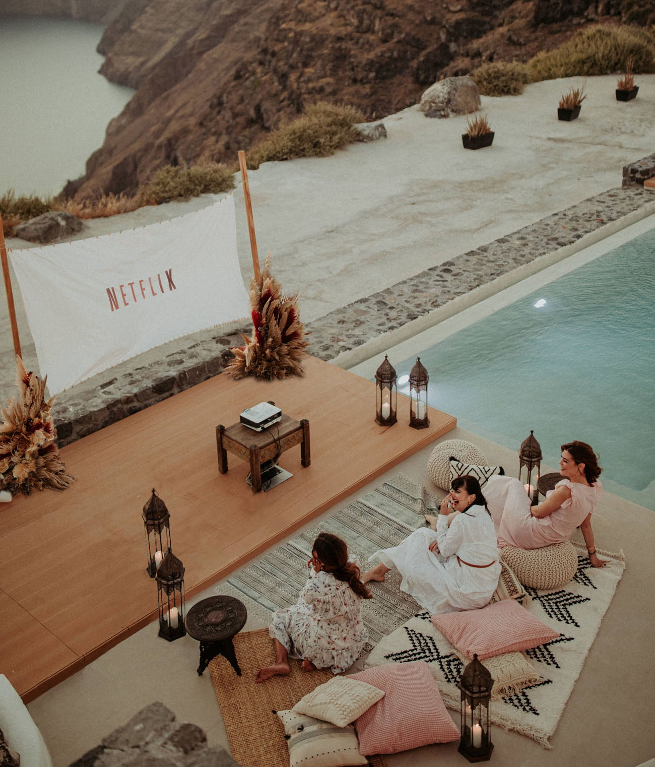 wedding shower or bachelorette in an epic location before your destination wedding ceremony