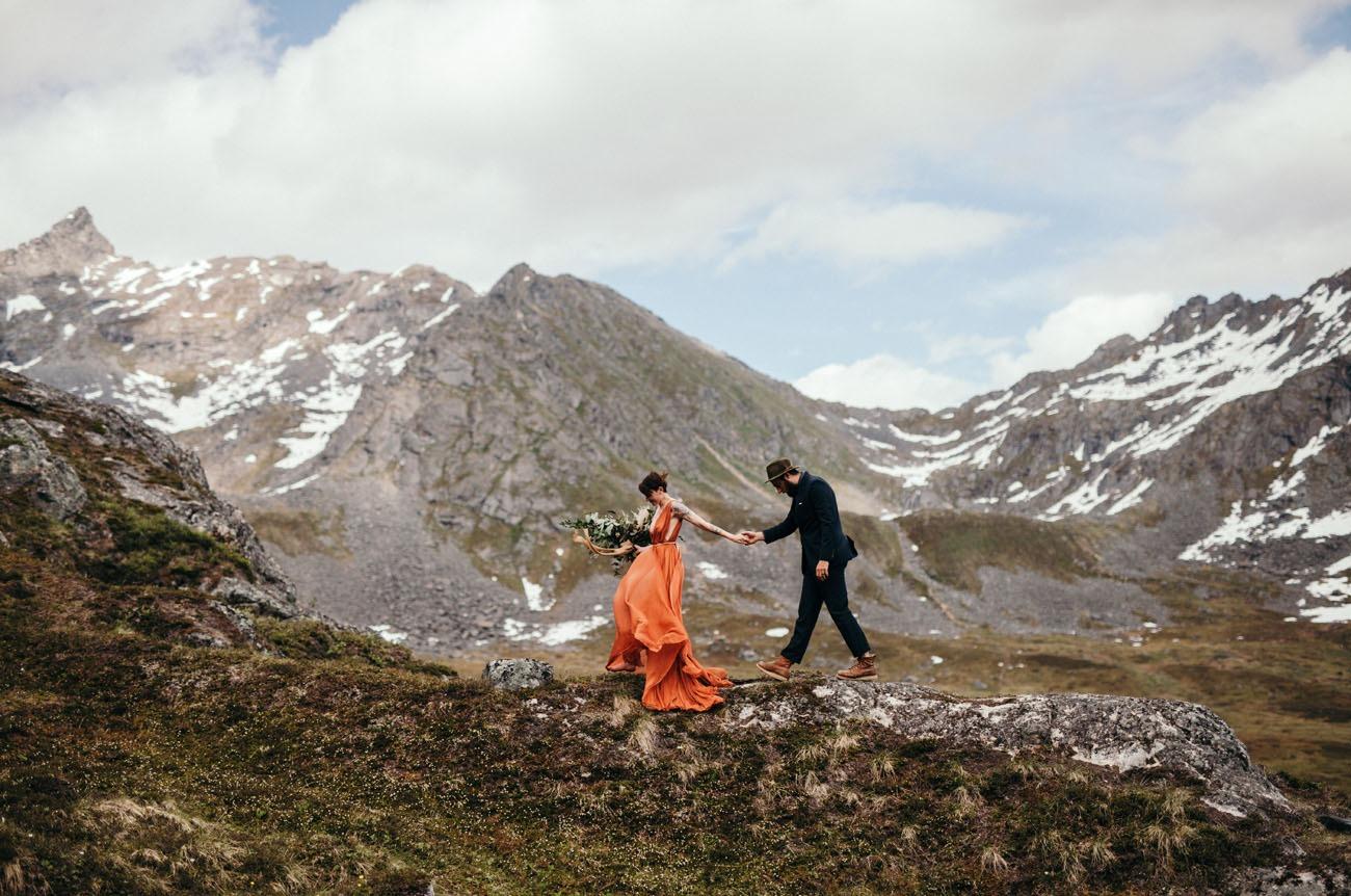 Hatcher Pass Anchorage Alaska honeymoon destinations in the US
