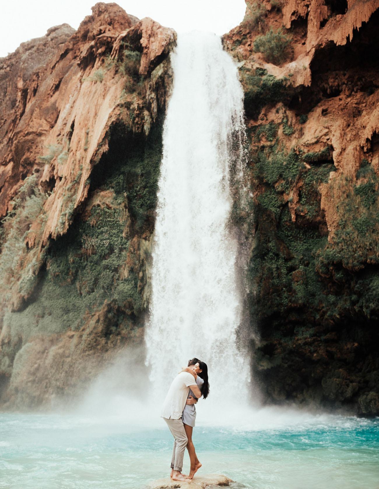 Havasu Falls Arizona honeymoon destinations in the US