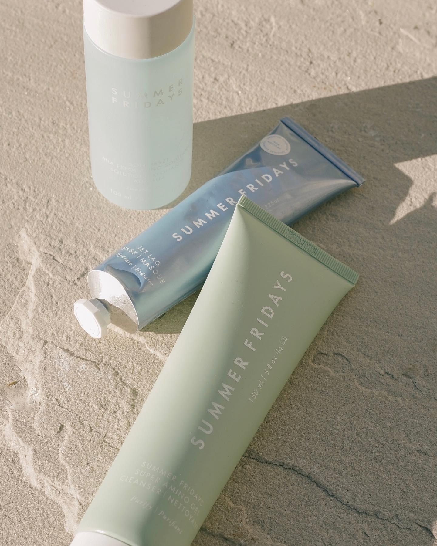 Summer Fridays sustainable skincare