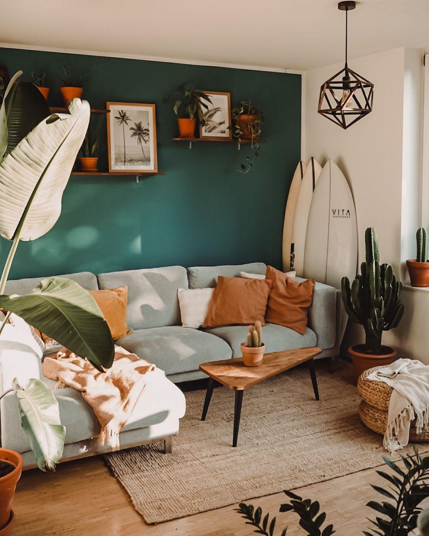 Surfer's Jungalow Living Room