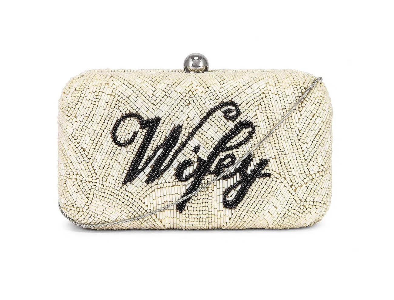 wifey bridal clutch