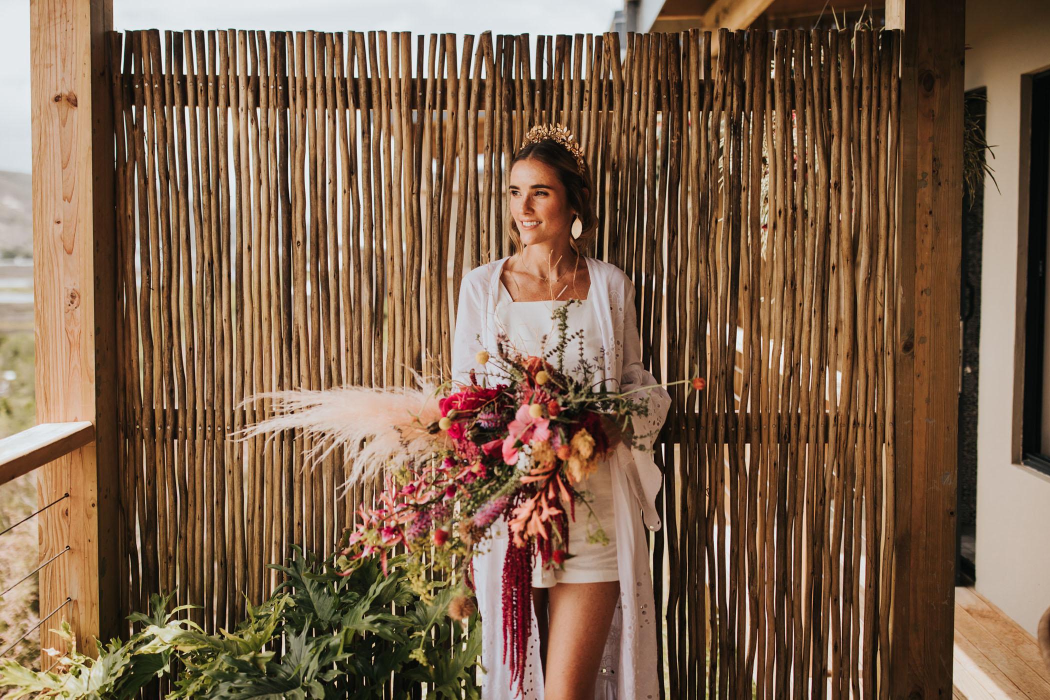 South Africa Green Wedding Dress