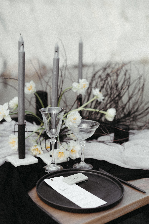 Modern Lake Wedding Editorial