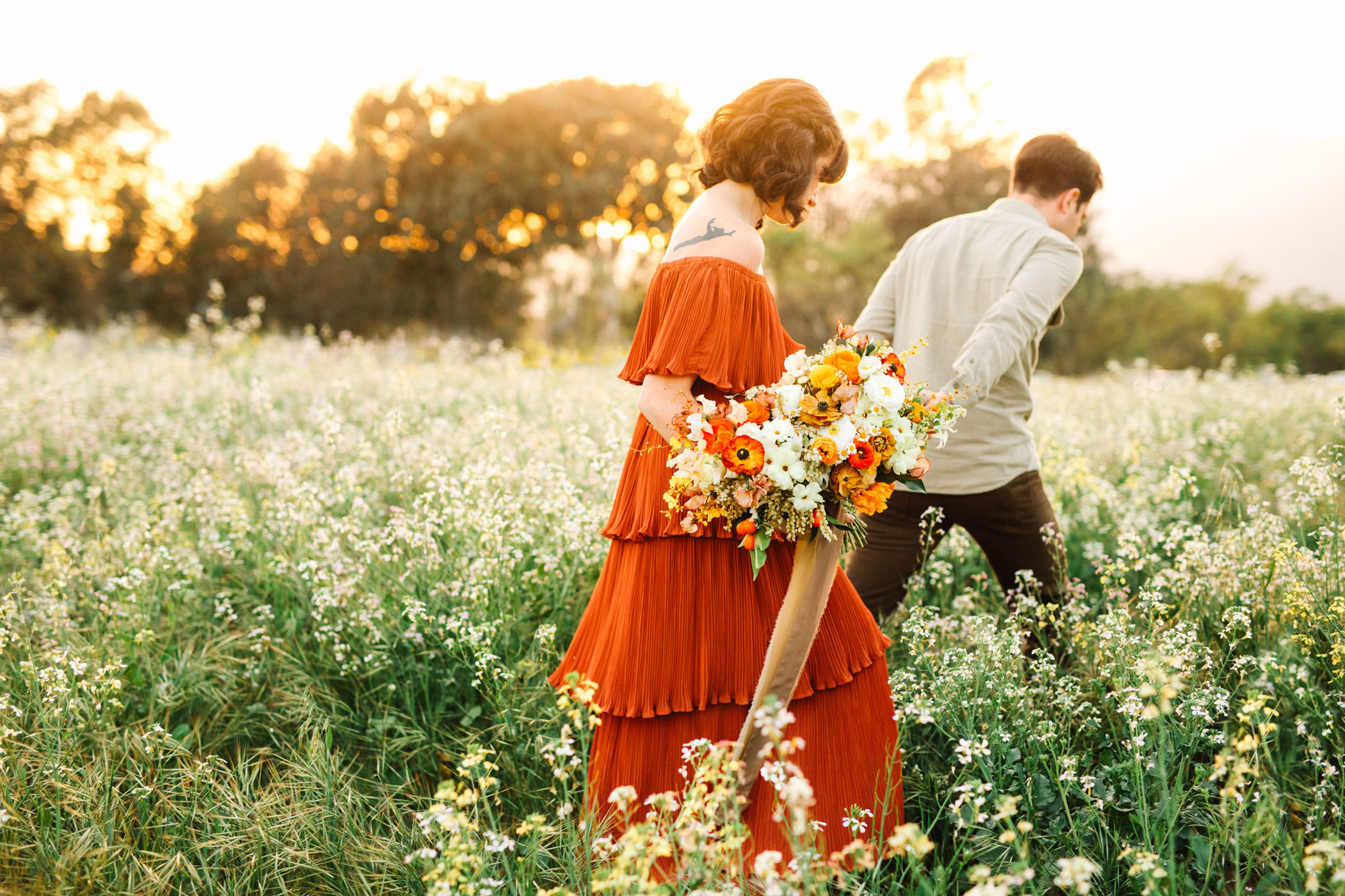 Ojai Wildflower Elopement